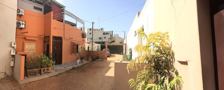 House with 4 bedrooms in Cambérène, with enclosed garden and WiFi - 10 km from the beach