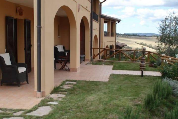 Casa con piscina nella splendida Val d'Orcia - Radicofani, Contignano - Dom