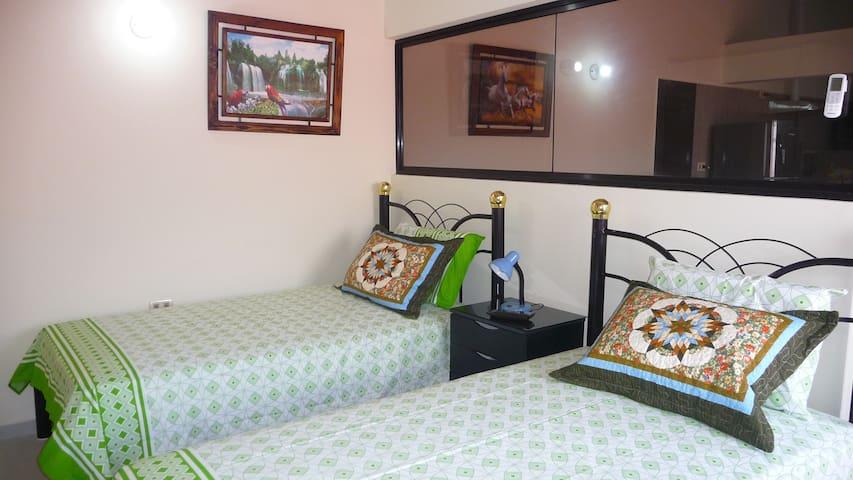Apt. 7 - Spacious, Comfortable, Optional Trips. - Santa Cruz de la Sierra
