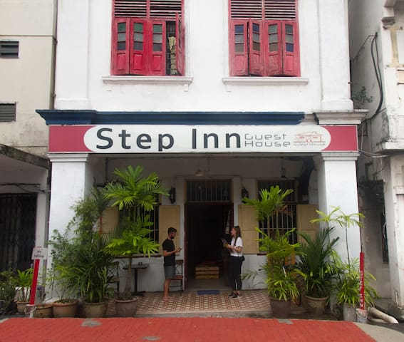 Double Room with Fan at Step Inn Guest House