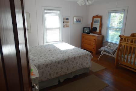 Great Lake Huron 5 BR cottage &  2BR guest house - House