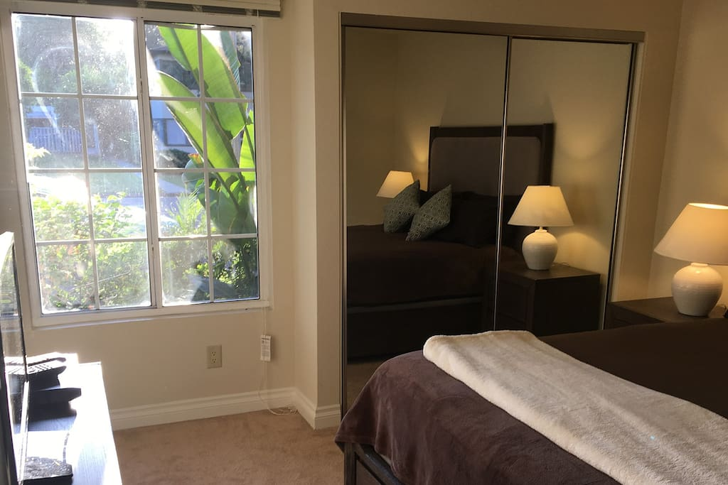 """Bedroom has 24"""" TV with Google Chromecast and DVD player and lots of great DVDs."""