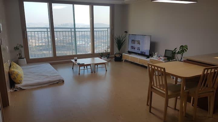 청주,오창...결혼식, 모임, 출장, 안전한 숙소 고층아파트