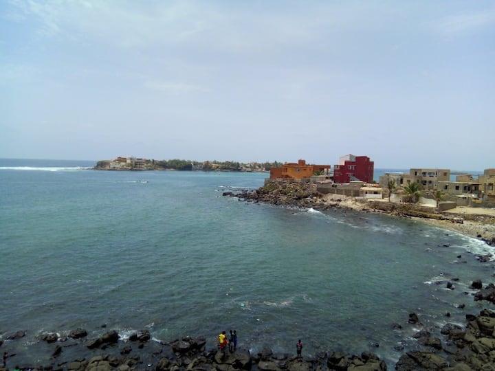 Magnifique studio vip en bord de mer situé à Ngor