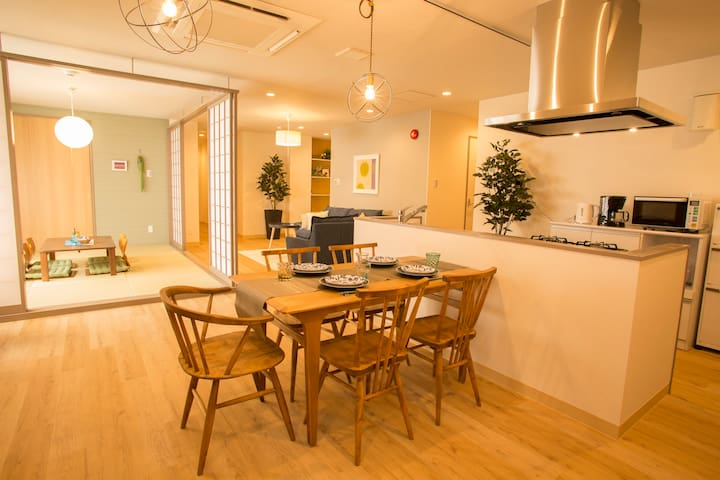 Japanese style & Modern comfort! cozy stay in naha