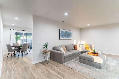 ★ Light-filled, Clean, Modern Remodeled 2BR Home