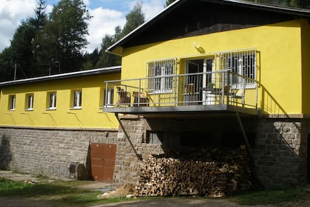Comfortable, child-friendly holiday home in Nedvedice, stunning surroundings and amazing views