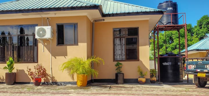 a three bedroom villa in a high security street