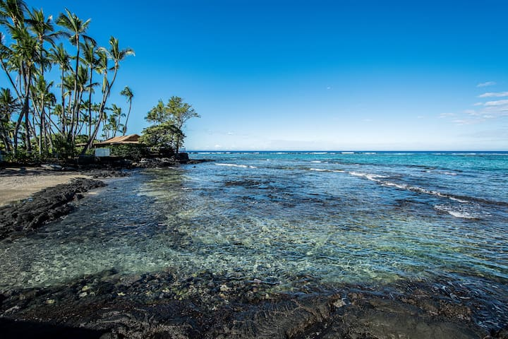 Great Location Beach Villas at Kahaluu Beach Park