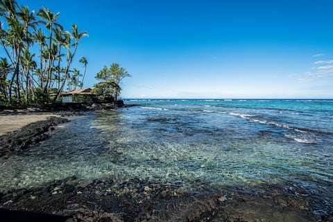 Great Location Beach Villas at Kahaluu Beach Park