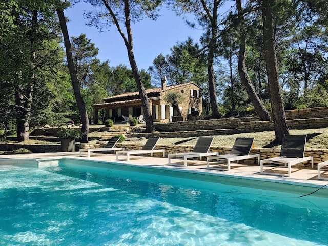 Wonderful Villa with swimming pool at Menerbes