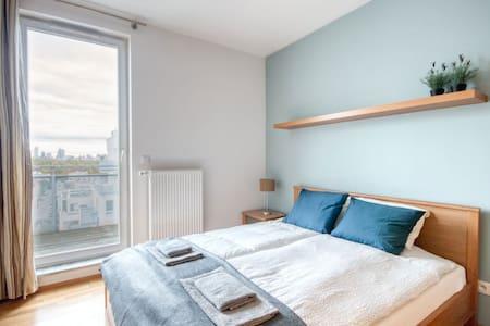 Modern 3-bedroom flat in guarded estate, parking