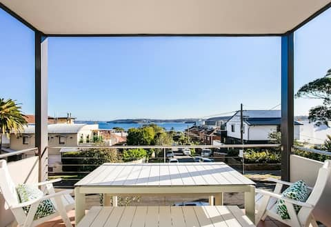 Manly Home with Water Views