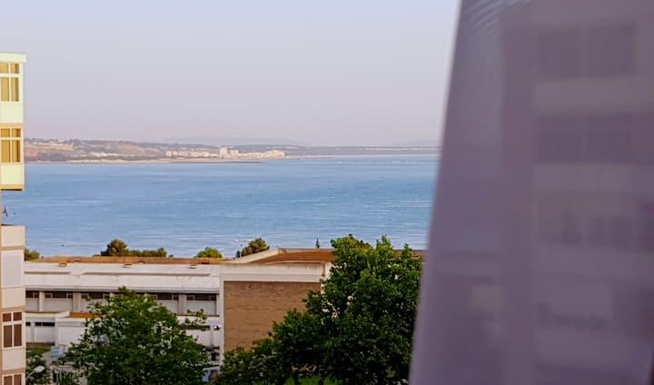 Beach view apartment