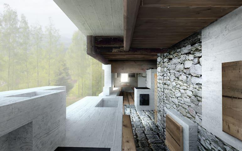 Zeit und Sein am Schedlberg - Denkerarchitektur - Arnbruck - Hus