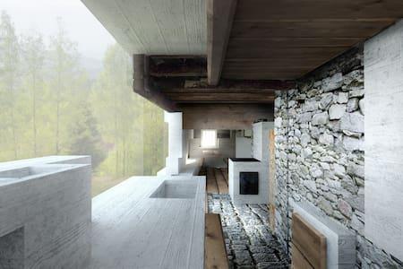 Zeit und Sein am Schedlberg - Denkerarchitektur - Hus