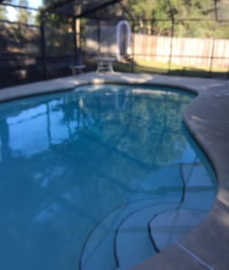 Rainbow lakes estates pool home. Very Quiet area.