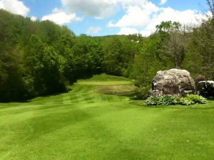 Drive for Show putt for Dough at Sugar Mountain Golf and Country Club open to the public