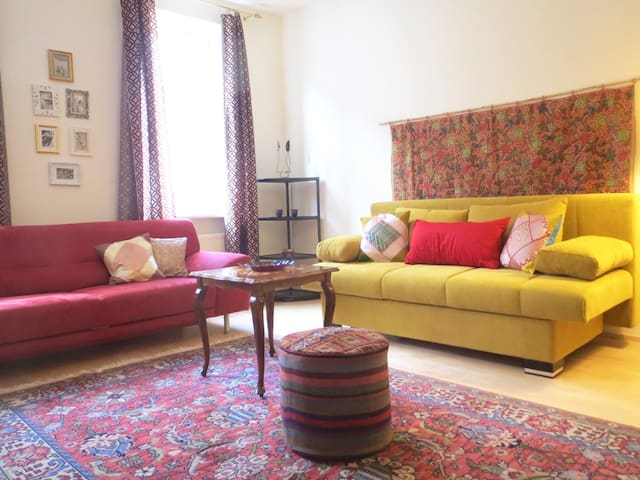 Charming, cosy, quiet and near city centre