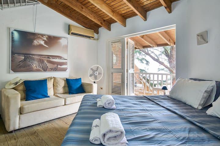 -Habitación 1, en segundo nivel. -Bedroom 1, on the second level.