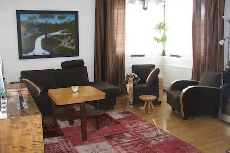 Cozy apartmet - 2 bedrooms & sauna - Wohnung