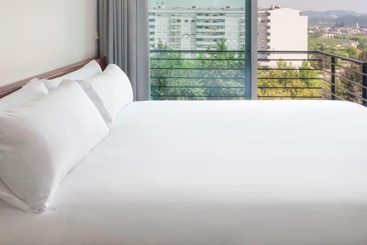 Apartamento de 1 dormitorio doble + sofá-cama