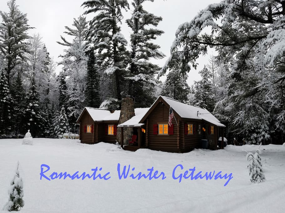 Romantic Winter Getaway - Don't worry - we keep the road maintained year round for easy access