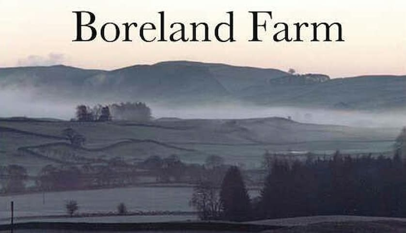 Boreland Farm Self Catering on farm accommodation.