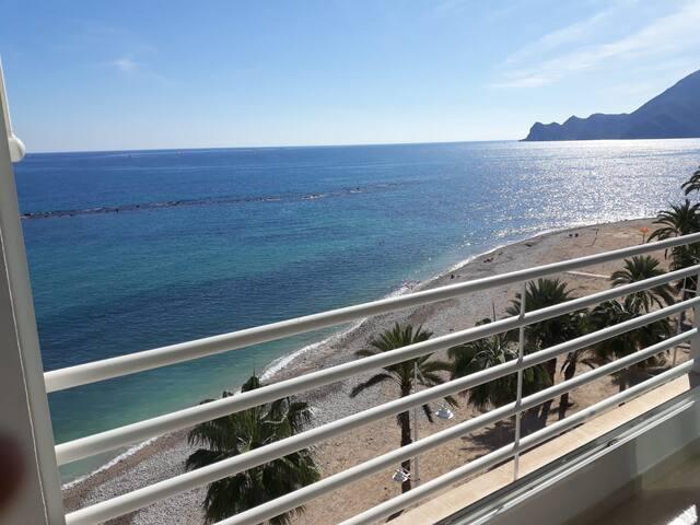 sea view apartment beachfront