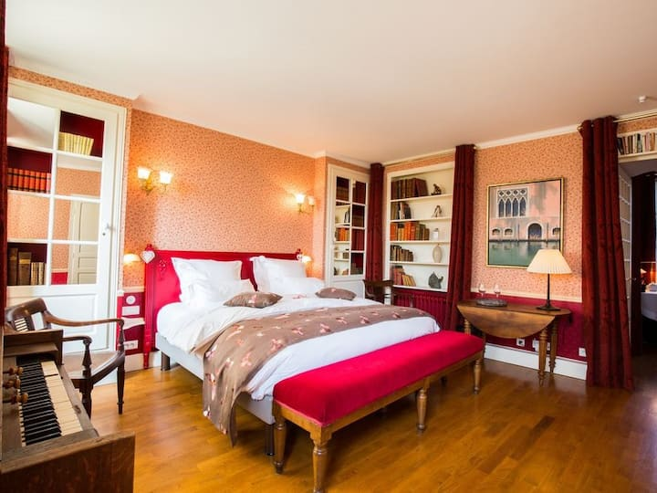Double room-Deluxe-Ensuite-Garden View-Chambre du Clocher