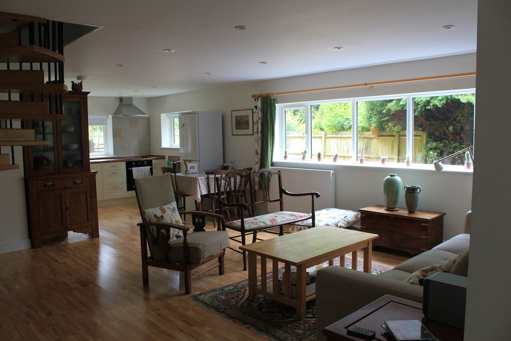 Lounge, kitchen and dining areas - all in one