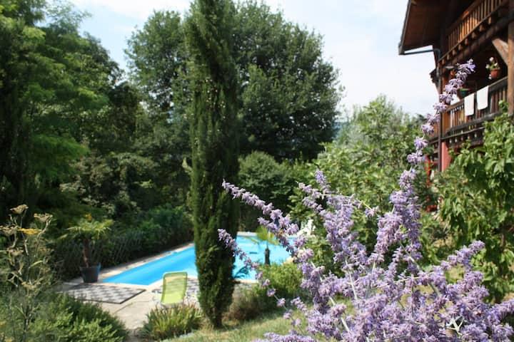 Rez de jardin indépendant