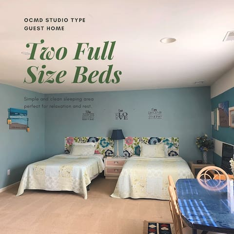 Studio type 5 mins from Ocean City-