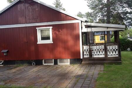 Nice, cheap, easy living in cosy Jokkmokk house