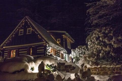 Casa rural de piedra arenisca en Suiza Checa