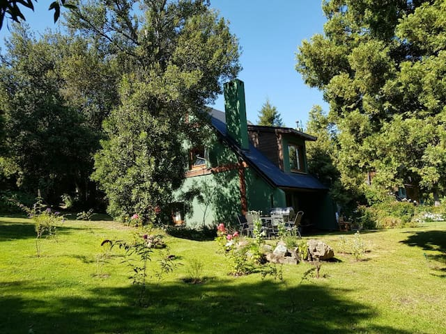 Par 4-Casa de montaña en Arelauquén