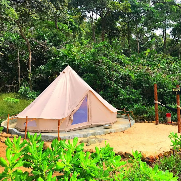 Large Beach Front Bell Tent