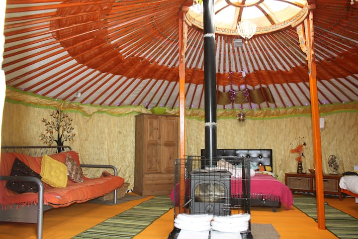 Giant Yurt - Mammoth Mongolian - Robertsbridge - กระโจมทรงกลม