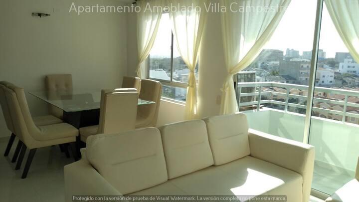 Apartamento cómodo