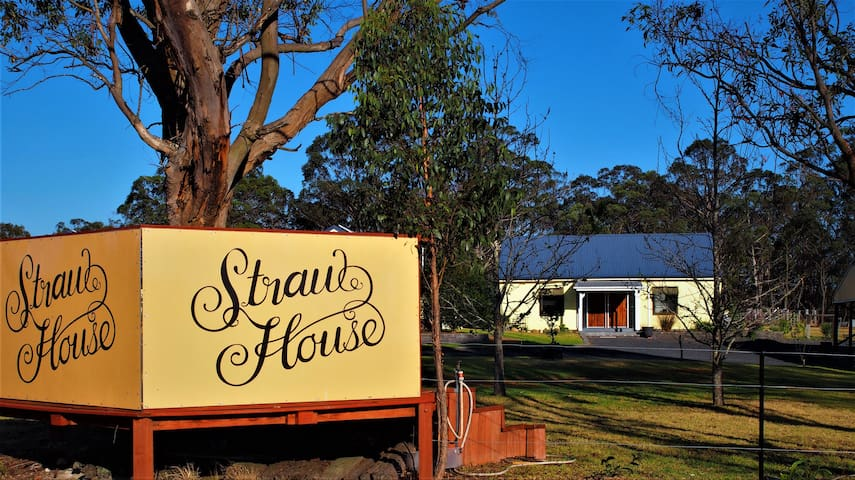 Straw House B & B- luxury comfort and care.