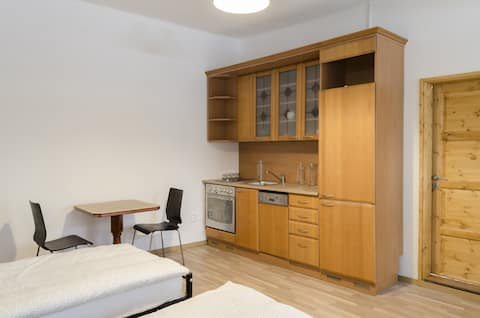 Twin Private room with kitchen in the city center