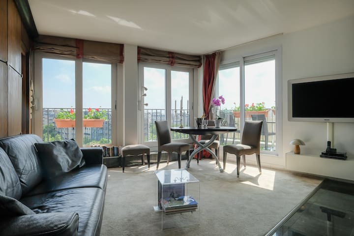 Saint Germain/Montparnasse with exceptional view