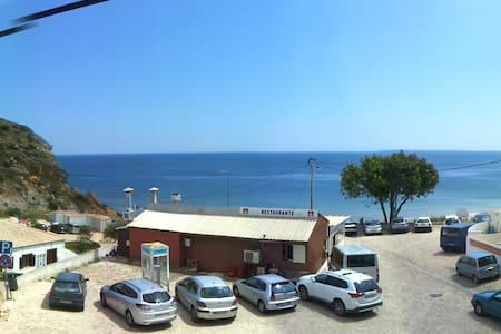Flat with seaview in central square - Budens - Apartemen