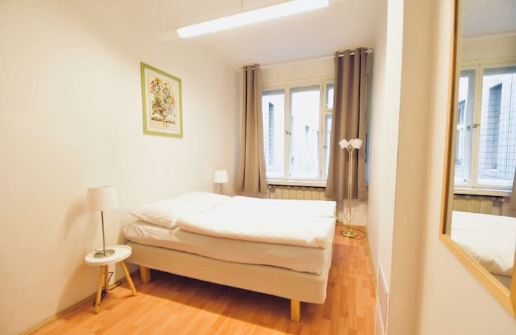 Downtown room for 2 people near Wenceslas square