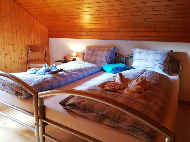Private Double Room Mountain View Grindelwald
