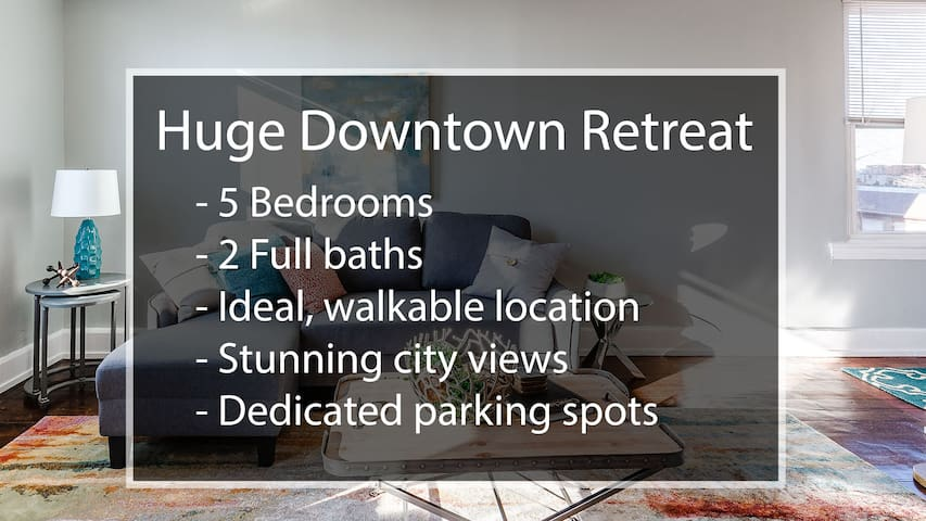 2 Large Apts w/ Parking - Downtown/Over the Rhine