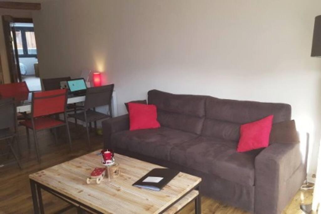 Canapé lit 180*200