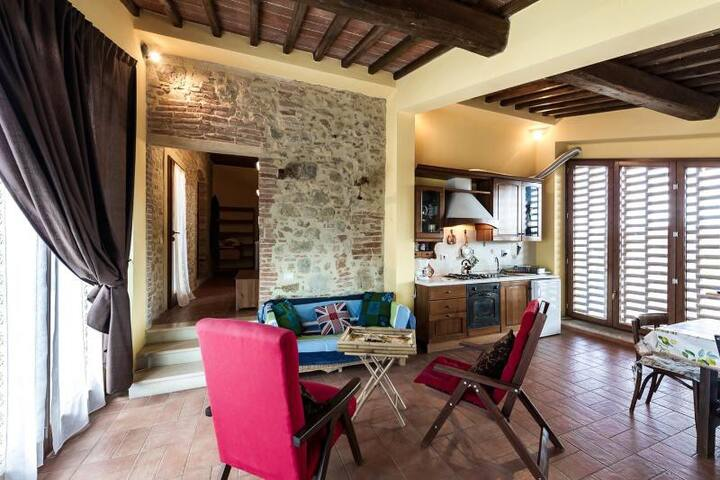 Hilltop Escape for Friends & Family - San Gimignano - Apartment