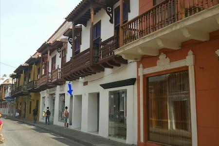 Apartamento Calle la Moneda! Old City # 1 - Cartagena