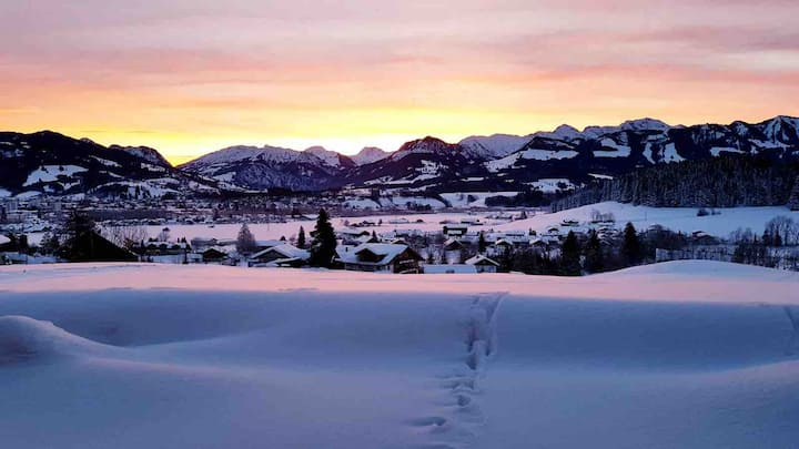 Traumblick auf Hochalpen /Oberstdorf Mountainview